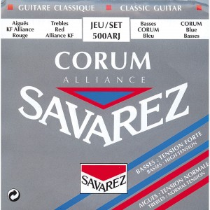 Struny SAVAREZ Alliance Corum Normal/Hard Tension 500ARJ