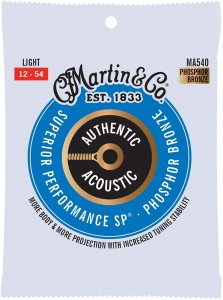 Struny Martin Authentic Acoustic SP Phosphor Bronze 12-53 (MA540)