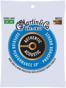 Struny Martin Authentic Acoustic SP Phosphor Bronze 10-47 (MA530)