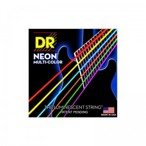 Struny DR Neon™ Hi-Def Multicolor™ Electric K3 Coating 10-46 (NMCE-10)