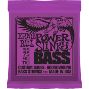 Struny Ernie Ball Power Slinky Bass Nickel Wound 55-110 (2831)