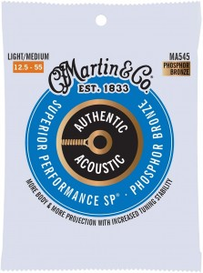 Struny Martin Authentic Acoustic SP Phosphor Bronze 12.5-55 (MA545)