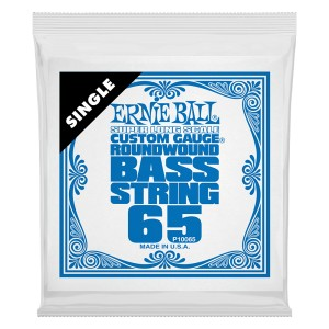 Struna .065 do gitary basowej Ernie Ball Bass Super Long (10065)