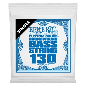 Struna .130 do gitary basowej Ernie Ball Bass Super Long (10130)