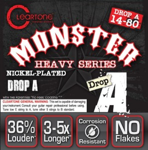 Struny Cleartone Electric Monster Heavy Series 14-80