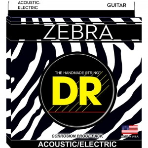 Struny DR Zebra Acoustic/Electric 10-48 (ZAE-10)
