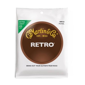 Struny Martin Retro Monel Custom Extra Light 10-47 MM10
