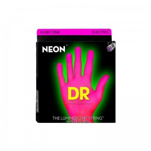 Struny DR Neon™ Hi-Def Pink Electric K3 Coating 10-46 (NPE-10)