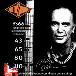 Struny Rotosound Swing Bass Stainless Steel Billy Sheehan 43-110 (BS66)