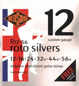 Struny Rotosound Nickel on Steel Electric Heavy 12-56 (R12-56)