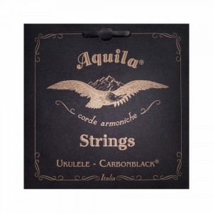 Struny do ukulele Aquila Carbonblack Concert high G