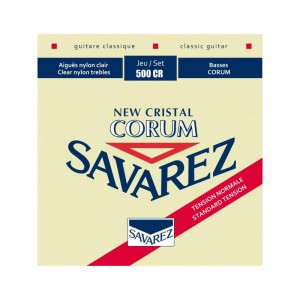 Struny SAVAREZ New Cristal Corum Normal Tension 500CR