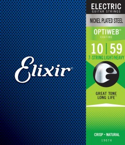 Struny Elixir OptiWeb 10-59 7-String Light/Heavy (19074)