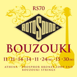 Struny Rotosound Bouzouki Athena Phosphor Bronze Loop End RS70