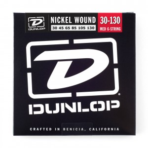 Struny Dunlop Nickel Plated Bass 6 30-130 DBN30130
