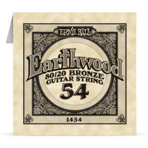 Struna .054 owijana Ernie Ball Earthwood 80/20 Bronze Acoustic (1454)