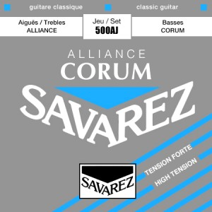 Struny SAVAREZ Alliance Corum High Tension 500AJ