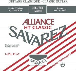 Struny SAVAREZ Alliance HT Classic Normal Tension 540R