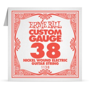 Struna .038 owijana Ernie Ball Nickel Wound Electric (1138)