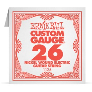 Struna .026 owijana Ernie Ball Nickel Wound Electric (1126)