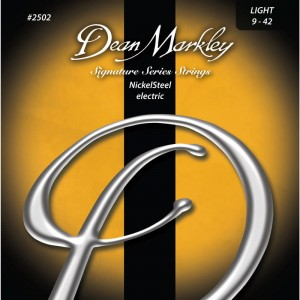 Struny 3PACK Dean Markley Nickel Steel Electric Signature Light 9-42 (DM25023PK)
