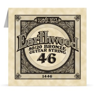 Struna .046 owijana Ernie Ball Earthwood 80/20 Bronze Acoustic (1446)