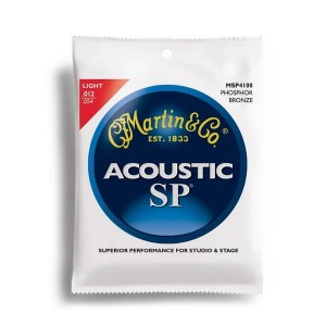 Struny Martin Acoustic SP 92/8 Phosphor Bronze Light 12-54 MSP4100