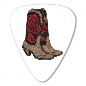 Kostka gitarowa Grover Allman Country Boots .80mm