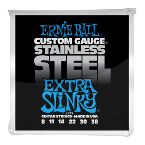 Struny Ernie Ball Regular Slinky Stainless Steel Wound 08-38 (2249)
