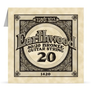 Struna .020 owijana Ernie Ball Earthwood 80/20 Bronze Acoustic (1420)
