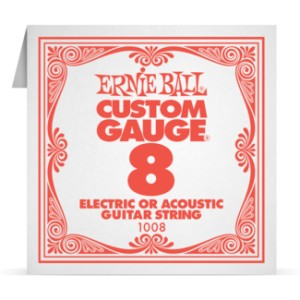 Struna .008 nieowijana Ernie Ball Electric/Acoustic (1008)