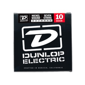 Struny Dunlop Electric 7-String Nickel Wound 10-56