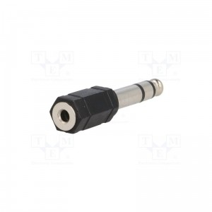 Adapter Jack 6,35mm na Jack 3,5mm stereo