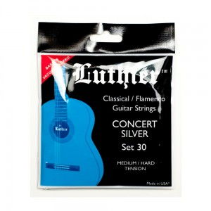 Struny Luthier Concert Silver Medium/Hard Tension Set 30