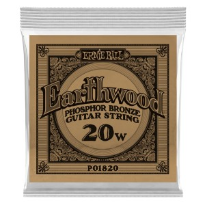 Struna .020 owijana Ernie Ball Earthwood Phosphor Bronze Acoustic (1820)