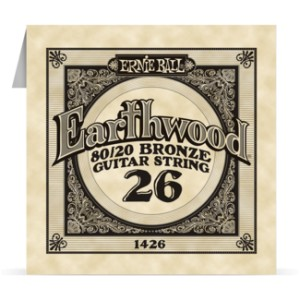 Struna .026 owijana Ernie Ball Earthwood 80/20 Bronze Acoustic (1426)