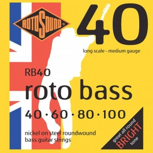 Struny Rotosound Roto Bass Nickel on Steel 40-100 (RB40)