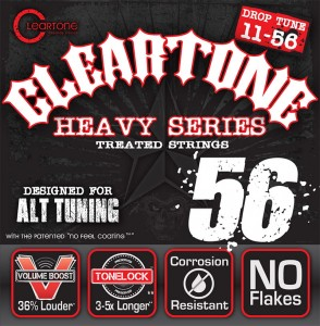 Struny Cleartone Electric Monster Heavy Series 11-56