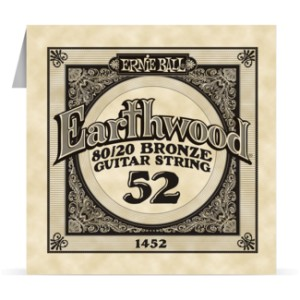Struna .052 owijana Ernie Ball Earthwood 80/20 Bronze Acoustic (1452)