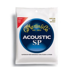 Struny Martin Acoustic SP 80/20 Bronze Light 12-54 MSP3100