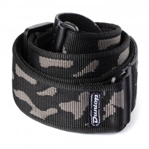 Pasek do gitary Dunlop Cammo Grey D38-10GY
