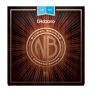Struny D'Addario Nickel Bronze 12-53