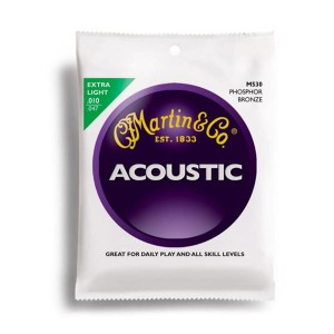 Struny Martin Acoustic Phosphor Bronze Extra Light 10-47 M530