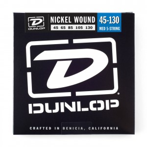 Struny Dunlop Nickel Plated Bass 5 45-130 DBN45130