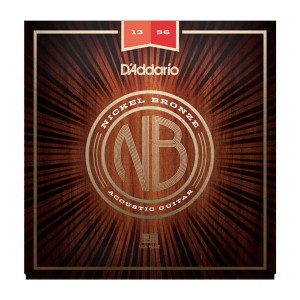Struny D'Addario Nickel Bronze 13-56