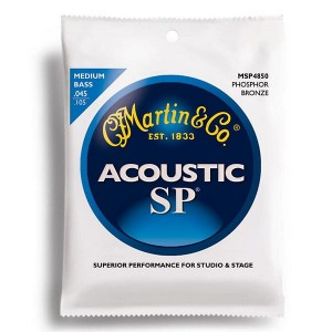 Struny Martin 4-String SP Medium Acoustic Bass 45-105 MSP4850