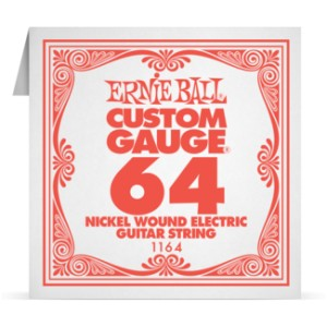 Struna .064 owijana Ernie Ball Nickel Wound Electric (1164)