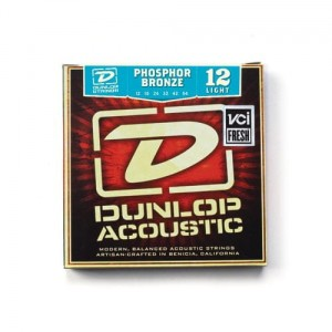 Struny Dunlop Acoustic Light Phosphor Bronze 12-54