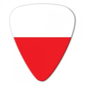 Kostka gitarowa Grover Allman World Flags Poland .80mm