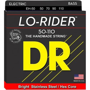 Struny DR Lo-Rider™ Stainless Steel 50-110 (EH-50)